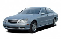 2003 Mercedes-Benz S Class 4-door Sedan 4.3L Angular Front Exterior View