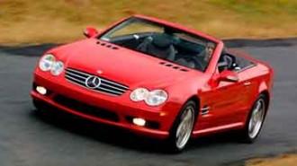 2003 Mercedes Benz SL Class