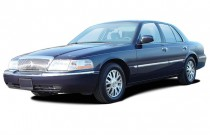 2003 Mercury Grand Marquis 4-door Sedan LS Premium Angular Front Exterior View