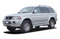2003 Mitsubishi Montero Sport 4-door 4WD LTD *Ltd Avail* Angular Front Exterior View