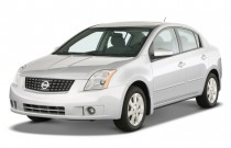 2009 Nissan Sentra 4-door Sedan CVT 2.0S *Ltd Avail* Angular Front Exterior View