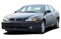 2003 Pontiac Grand Am 4-door Sedan GT1 Angular Front Exterior View