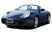 2003 Porsche Boxster 2-door Roadster S 6-Spd Manual Angular Front Exterior View