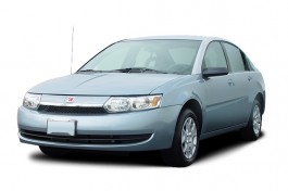 2003 Saturn Ion ION 2 4-door Sedan Manual Angular Front Exterior View