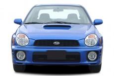 2003 Subaru Impreza 4-door Sedan WRX Manual Front Exterior View