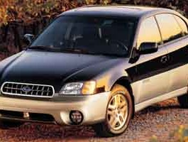 2003 Subaru Legacy Sedan Outback Ltd