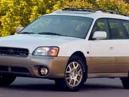 2003 Subaru Legacy Wagon Outback H6 L.L. Bean Edition