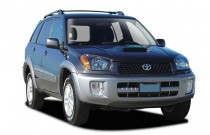 2003 Toyota RAV4 4-door Manual (Natl) Angular Front Exterior View