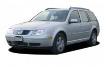 2005 Volkswagen Jetta Wagon 4-door GLS Auto Angular Front Exterior View