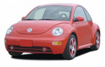 2003 Volkswagen New Beetle Coupe 2-door Coupe GLS Turbo Manual Angular Front Exterior View