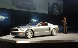 Ford Trots Out Mustang Concept