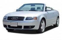 2004 Audi A4 2004 2-door Cabriolet 3.0L CVT Angular Front Exterior View