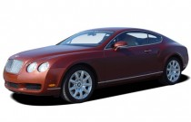 2005 Bentley Continental 2-door Coupe GT Angular Front Exterior View