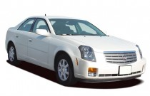 2005 Cadillac CTS 4-door Sedan 3.6L Angular Front Exterior View