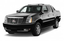 2010 Cadillac Escalade EXT AWD 4-door Base Angular Front Exterior View
