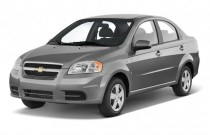2010 Chevrolet Aveo 4-door Sedan LS Angular Front Exterior View