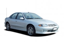 2004 Chevrolet Cavalier 4-door Sedan LS Sport Angular Front Exterior View