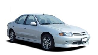 2004 Chevrolet Cavalier 4-door Sedan LS Sport Angular Front Exterior View