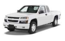 "2009 Chevrolet Colorado 2WD Ext Cab 125.9"" LT w/1VL Angular Front Exterior View"