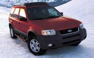 2001-2004 Ford Escape Recalled for Rust