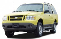 "2004 Ford Explorer Sport Trac 4-door 126"" WB XLT Premium Angular Front Exterior View"