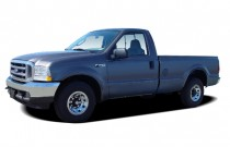 "2004 Ford Super Duty F-250 Reg Cab 137"" XLT Angular Front Exterior View"