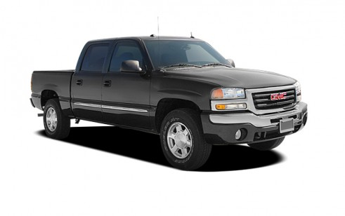 2004 gmc sierra 1500 crew cab vs ford f 150 chevrolet silverado 1500 chevrolet avalanche. Black Bedroom Furniture Sets. Home Design Ideas