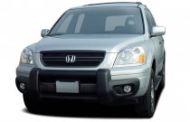 2004 Honda Pilot 4WD EX Auto w/Leather Angular Front Exterior View