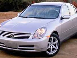 2004 Infiniti G35 Sedan 