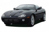 2004 Jaguar XK8 2-door Convertible XKR Angular Front Exterior View