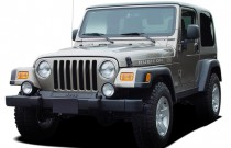2004 Jeep Wrangler 2-door Rubicon Angular Front Exterior View