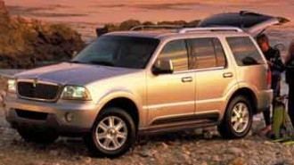 2004 Lincoln Aviator Luxury