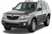 2009 Mazda Tribute FWD I4 Hybrid Touring Angular Front Exterior View