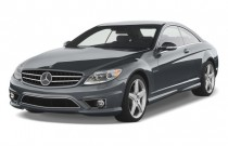 2010 Mercedes-Benz CL Class 2-door Coupe 6.3L V8 AMG RWD Angular Front Exterior View