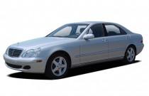 2004 Mercedes-Benz S Class 4-door Sedan 4.3L Angular Front Exterior View