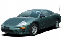 2004 Mitsubishi Eclipse 3dr Coupe RS 2.4L Auto Angular Front Exterior View