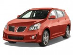 2009 Pontiac Vibe 4-door HB GT FWD Angular Front Exterior View
