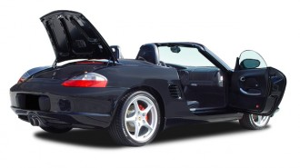 2004 Porsche Boxster 2-door Roadster S Tiptronic Open Doors