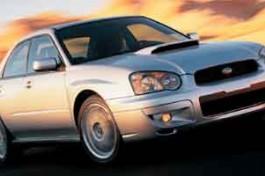 2004 Subaru Impreza Sedan (Natl) WRX