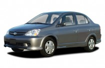 2003 Toyota Echo 4-door Sedan Manual (Natl) Angular Front Exterior View