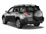 2009 Toyota RAV4 FWD 4-door 4-cyl 4-Spd AT Sport (Natl) Angular Rear Exterior View