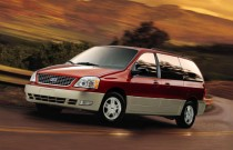 2004 Ford Freestar - front