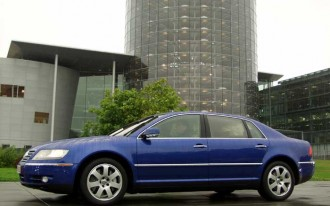 VW Isn't Counting Phaeton Profit