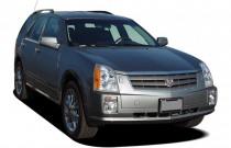 2005 Cadillac SRX 4-door V8 SUV Angular Front Exterior View