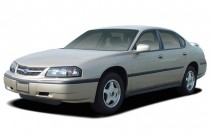 2005 Chevrolet Impala 4-door Base Sedan Angular Front Exterior View