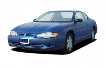 2005 Chevrolet Monte Carlo 2-door Coupe LS Angular Front Exterior View