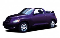 2005 Chrysler PT Cruiser 2-door Convertible Touring Angular Front Exterior View