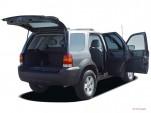 """2005 Ford Escape 4-door 103"""" WB 2.3L Hybrid Open Doors"""