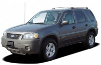 "2005 Ford Escape 4-door 103"" WB 2.3L Hybrid Angular Front Exterior View"
