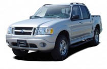 "2005 Ford Explorer Sport Trac 4-door 126"" WB XLT Premium Angular Front Exterior View"